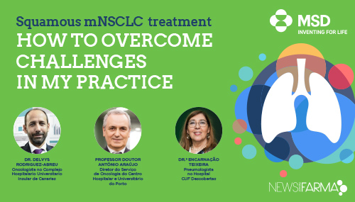 Squamous mNSCLC treatment - HOW TO OVERCOME CHALLENGES IN MY PRACTICE